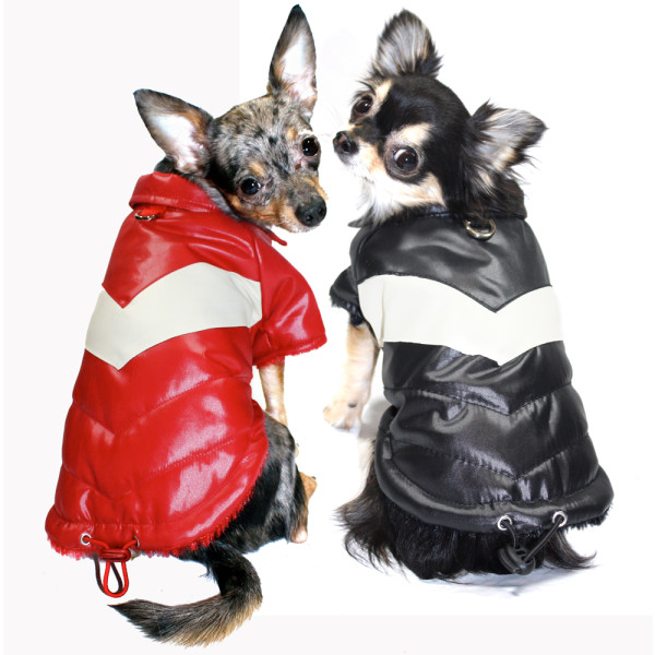 hipdoggie classic v coats for dogs