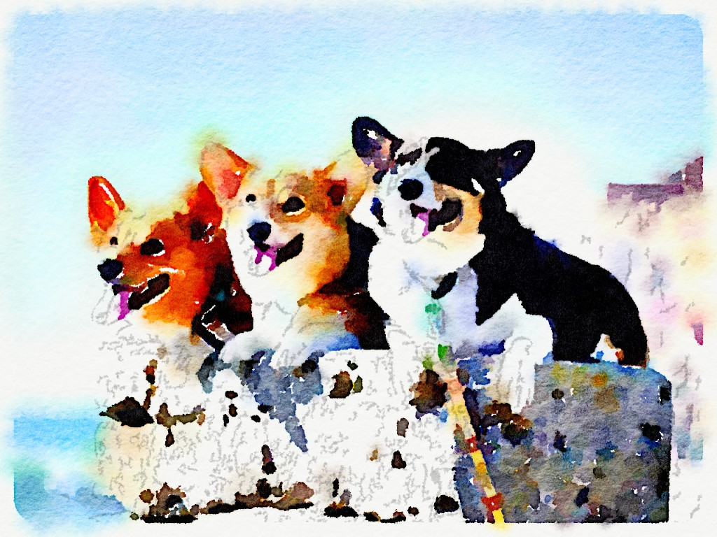 Turn your dog 39 s photo into a painting with this app for Painting of your dog