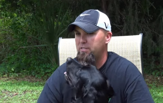 Dog heals soldiers with PTSD