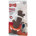 Nylabone DuraChew Stick Bone: You're bound to find the perfect toy for your dog with this bone. It comes in many different shapes, sizes, and flavors.