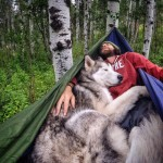 Loki and his owner Nate Grimm have an incredible relationship, which is perfectly captured in their travels.