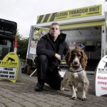 Scamp was the second dog that joined the B.W.Y. rescue team under Stuart Phillips guidance.