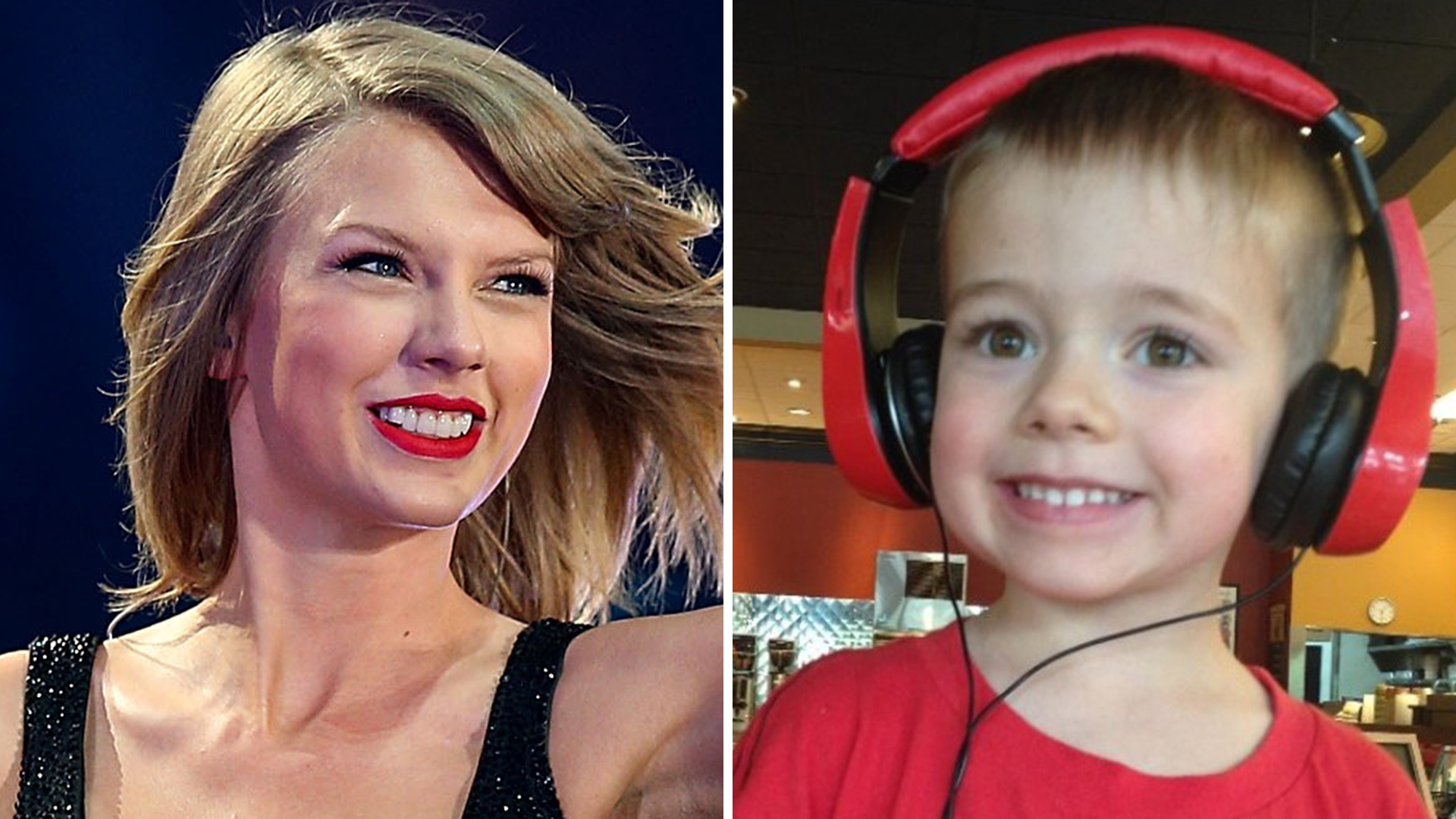 Taylor Swift donated $10,000 so this little boy could get an autism therapy dog