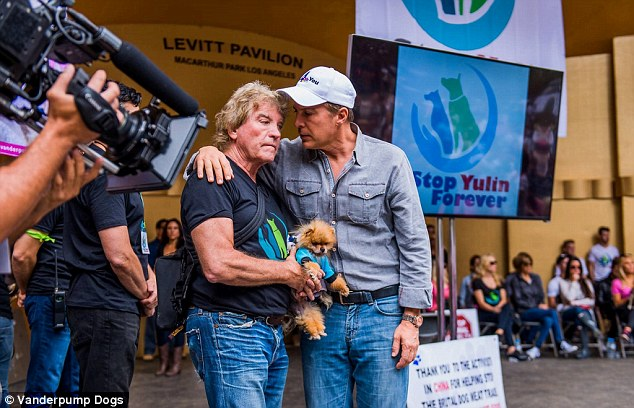 Ken Todd publicly speaking out against Yulin.