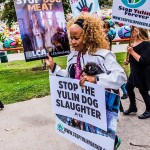 The October protest that was organized by Vanderpump and Todd.