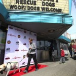Red carpet arrivals for the Bring Your Own Dog Event