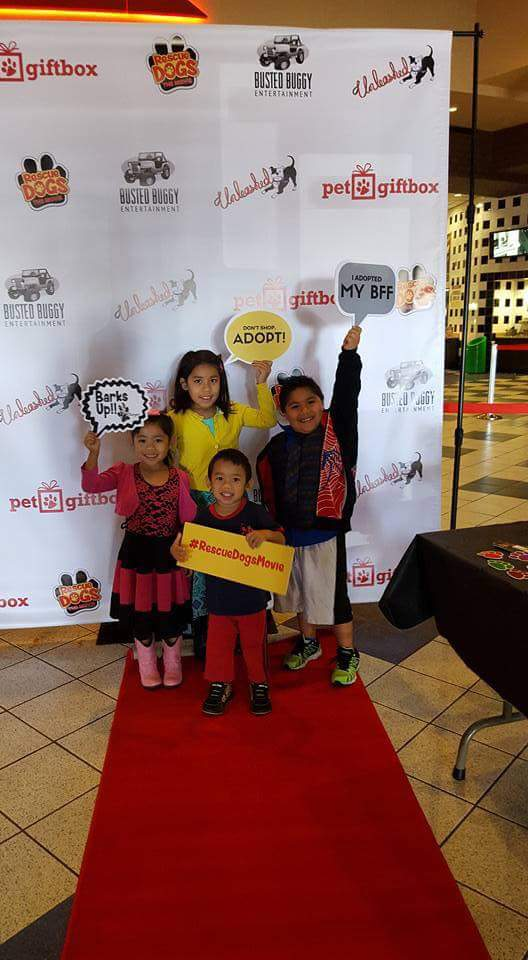 A family friendly event, with a red carpet rolled out for all