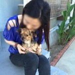 Rape victim bonds with a puppy