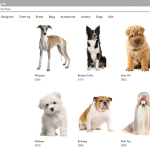 Lyst.com designer dog breed
