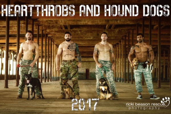 Heartthrobs and Hound Dogs calendar