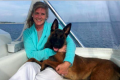 Belgian Malinois lost Lake Michigan