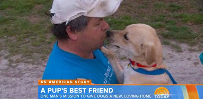 This Man Has Driven More Than 1 Million Miles To Save The Lives Of 2,000 Dogs