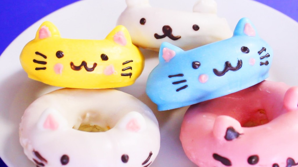 Recipe Easiest Diy Cat Donuts That Are Irresistbly Cute