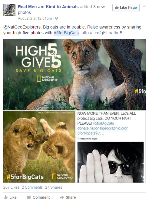 high five fb 2