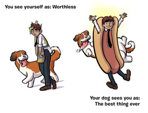 Cartoon Beautifully Illustrates How Our Dogs See Us 3 Million Dogs