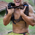 firefighters' calendar with puppies