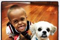 Quaden and Buddy