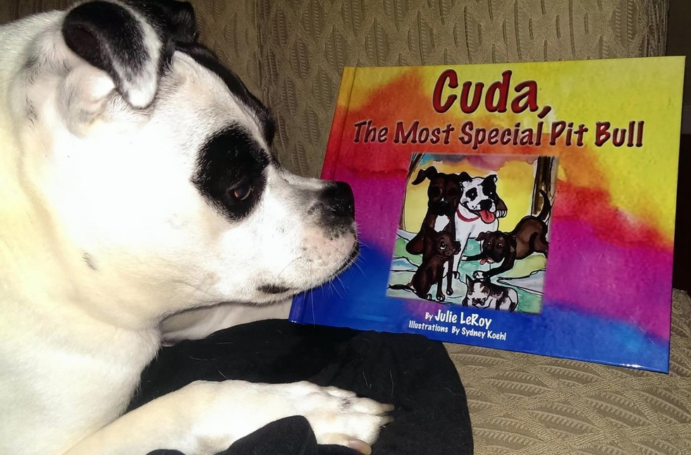 Cuda The Most Special Pitbull children's Book