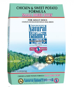 Natural Balance L.I.D. Limited Ingredient Diets Chicken & Sweet Potato Formula Small Breed Bites Grain
