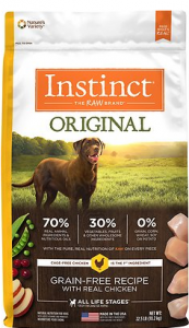 Instinct by Nature's Variety Original Grain-Free Recipe with Real Chicken Dry Dog Food