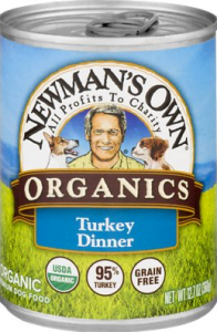 Newman's Own Organics Grain-Free 95% Turkey Dinner Canned Dog Food
