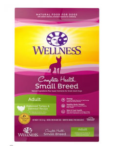 Wellness Small Breed Complete Health Adult Turkey & Oatmeal Recipe Dry Dog Food